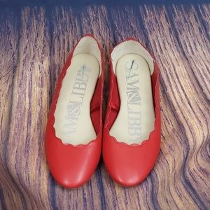 Sam & Libby Shoes - 🌹Sam & Libby RED flats size 8
